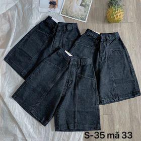 Quần ngố jean nữ size đại MS33 kho chuyên sỉ jean 2KJean giá sỉ