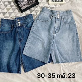 Quần ngố jean nữ size đại Ms23 kho chuyến sỉ jean 2KJean giá sỉ
