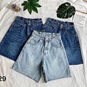 Quần ngố jean nữ kiểu dây size đại MS29 kho chuyên sỉ jean 2KJean giá sỉ