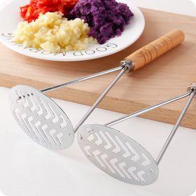 Dụng cụ nghiền khoai tây,rau củ cán gỗ giá sỉ