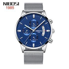 Đồng hồ nam nibosi 2309 dây nhuyễn giá sỉ