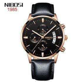 Đồng hồ nam nibosi 2309 dây da giá sỉ