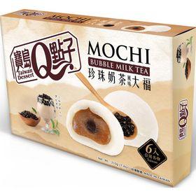 Bánh Mochi Trà Sữa Trân Châu Bubble Milk Tea Mochi Taiwan Quidea Ít Ngọt 6 bánh 210gr giá sỉ