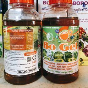 Phân bón lá cung cấp vi lượng Bo dạng gel Agro-Gelbotrac Bo Gel giá sỉ