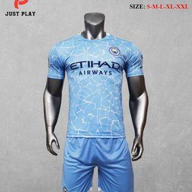 Áo quần đá bóng CLB Manchester City xanh biển mới 2020