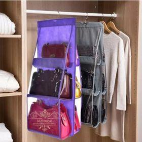 Túi treo giỏ xách 6 ngăn 3 tầng 40x100cm giá sỉ
