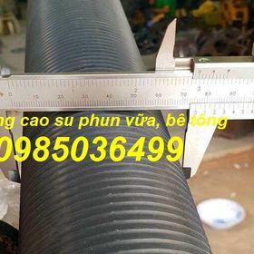 Phân phối ống cao su phun vữa, ép đùn bê tông phi 40mm giá sỉ
