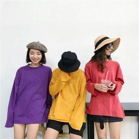 Áo Thun Teen Basic Tay Dài Nhiều Màu