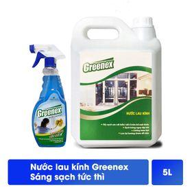 Nước lau kính Greenex Hương Tươi Mát can 5L giá sỉ