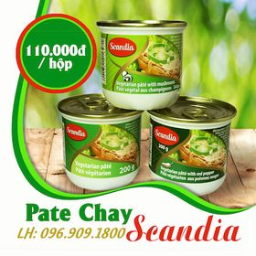 Pate chay Scandia Canada hộp 200gr