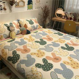 Bộ chăn Ga Gối Cotton Korea NS911 giá sỉ