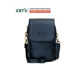 Túi đeo chéo đựng điện thoại nữ CNT TĐX58 xinh xắn ĐEN giá sỉ