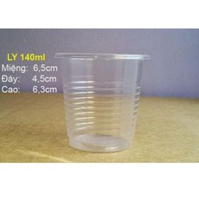 cốc nhựa có nắp đựng nước chấm có kèm nắp 140ml dùng 1 lần giá sỉ