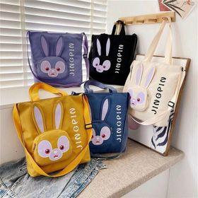 Túi vải in hình thỏ siêu xinh