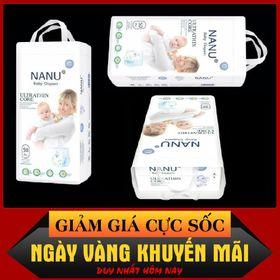 Bỉm Quần NANU Baby 50 miếng size S/M/L/XL/XXL/XXXL cho bé