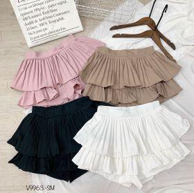 Chân váy quần xếp li tầng V9963 giá sỉ