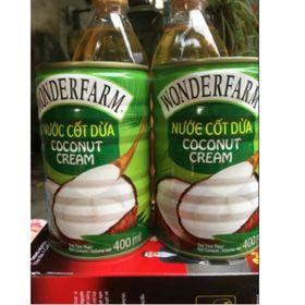 nước cốt dừa wonderfarm 140ml/400ml ( ) thơm ngon ngậy giá sỉ