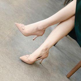 Giày cao gót khóa nơ HADU G765 giá sỉ