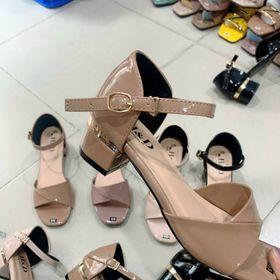 Sandal gót 5 f bít hậu sỉ 70 k giá sỉ