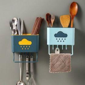 Giỏ treo đũa muỗng nhà bếp hình Đám mây giá sỉ
