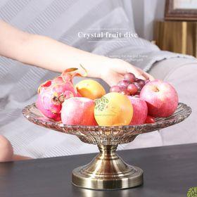 Khay trái cây thủy tinh trân châu giá sỉ