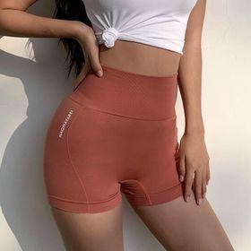 Quần đùi nữ tập gym vải dệt giá sỉ