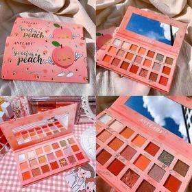 Bảng Phấn mắt đào 21 ô Any Lady Sweet Peach có nhũ sang trọng giá sỉ