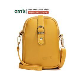 Túi đeo chéo đựng điện thoại nữ CNT TĐX60 nhiều màu dễ thương VÀNG giá sỉ