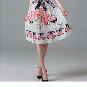 Đầm hoa xếp ly D9815 - Kho sỉ giá sỉ