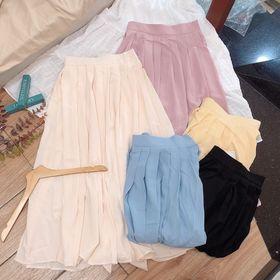 Chân váy xếp ly 5 màu giá sỉ
