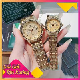 [ ]Đồng hồ cặp đôi nam nữ rô lêch xi đẹp giá sỉ