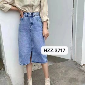 chân váy jean nữ giá sỉ