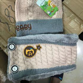 Set mũ khăn trẻ em giá sỉ
