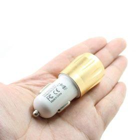 Cóc sạc điện thoại 2 cổng USB 5V 2.1A / 1A cho xe ô tô giá sỉ