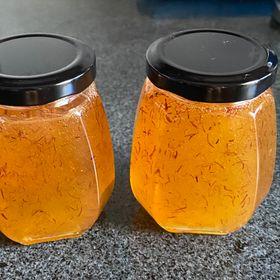 Mật ong ngâm saffron