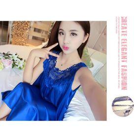 Váy Ngủ Vải Phi Lụa Bóng A15 giá sỉ