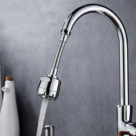 Đầu vòi rửa chén tăng áp xoay linh hoạt 360 tiện lợi với 2 chế độ nước - CÓ DÂY giá sỉ