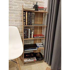 Kệ sách gỗ 5 tầng - kệ để đồ cao cấp gỗ MDF cứng phủ Melamine tuyệt đẹp giá sỉ