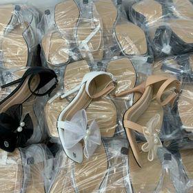Sandal gót 7f sỉ 78 k giá sỉ