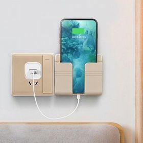 Hộp giá đỡ treo tường đựng điện thoại, remote tivi, máy lạnh, quạt giá sỉ