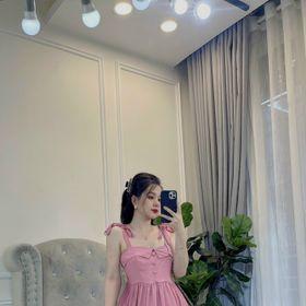 Váy thô xòe 2 dây khuy bọc giá sỉ