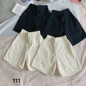 Quần ngố kaki nữ lưng cao Ms111 giá sỉ