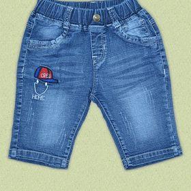 Quần lửng jean bé trai P425 giá sỉ