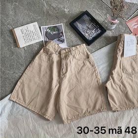 Quần ngố kaki nữ lưng cao size đại bigsize thời trang 2Kjean giá sỉ