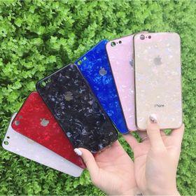 Ốp vân đá cường lực viền dẻo cùng màu với lưng máy IPhone 6 đến 11 pro max giá sỉ
