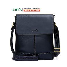 Túi đeo chéo CNT unisex IPAD21 nhiều màu cá tính ĐEN giá sỉ