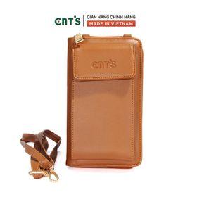 Túi đeo chéo đựng điện thoại thời trang CNT TĐX61 nhẹ nhàng nhiều màu BÒ giá sỉ