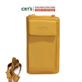 Túi đeo chéo đựng điện thoại thời trang CNT TĐX61 nhẹ nhàng nhiều màu VÀNG giá sỉ