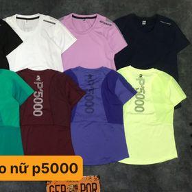 ÁO THỂ THAO NỮ P5000 giá sỉ