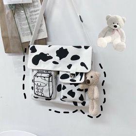 Túi đeo canvas bò sữa đẹp giá sỉ